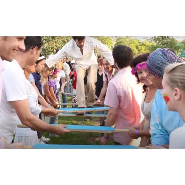 Игра Воздушная лестница для коллектива на сплочение и фан-игру