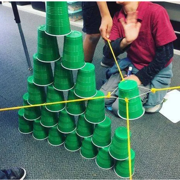 Игра Цветная башня для