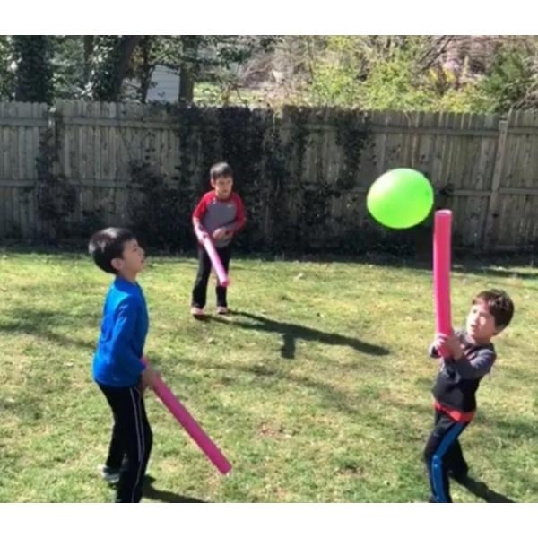 Игра Воздушный волейбол (палки для бассейна) для Фан игры на стратегических сессий