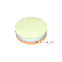 Клеевые модерационные карты Круг 14 см (разноцветные)