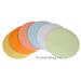 Клеевые модерационные карты Круг 19,5 см (разноцветные) 2 для