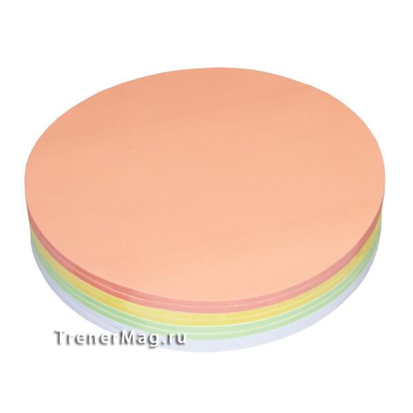 Набор круглых клеевых карт Светофор (19,5см) для работы выступающих