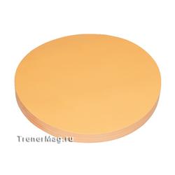 Клеевые модерационные карты Круг 19,5 см Оранжевые