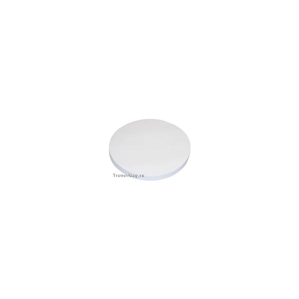 Клеевые модерационные карты Круг 9,5см Белые для работы выступающего