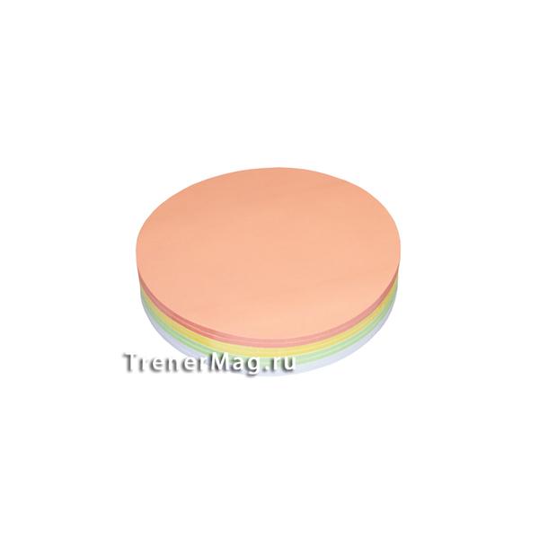 Набор круглых клеевых карт Светофор (9,5см) для работы фасилитатора - в магазине ТренерМаг