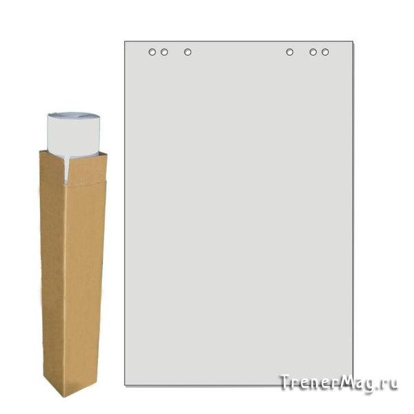 Бумага для флипчартов Серая от 10л. (67,5х98см) для работы менеджеров по обучению
