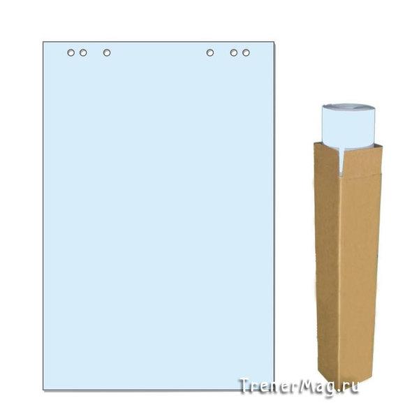 Бумага для флипчартов Синяя 20л. (67,5х98см) для проведения стратегической сессии