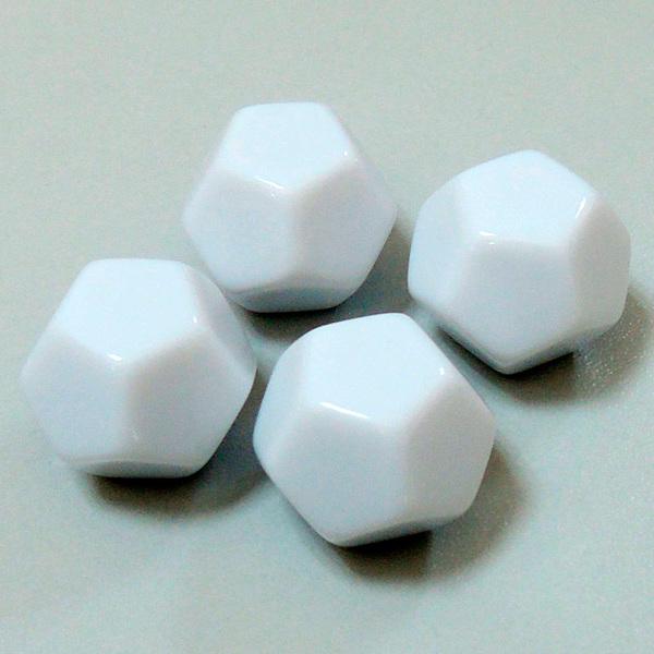 применение Кубик игральный 12-гранный (пустой, малый, 10*28мм) в играх