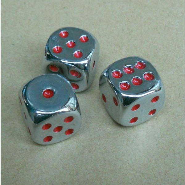 применение Кубик игральный Металлик (стандартный, 16мм) на сессии