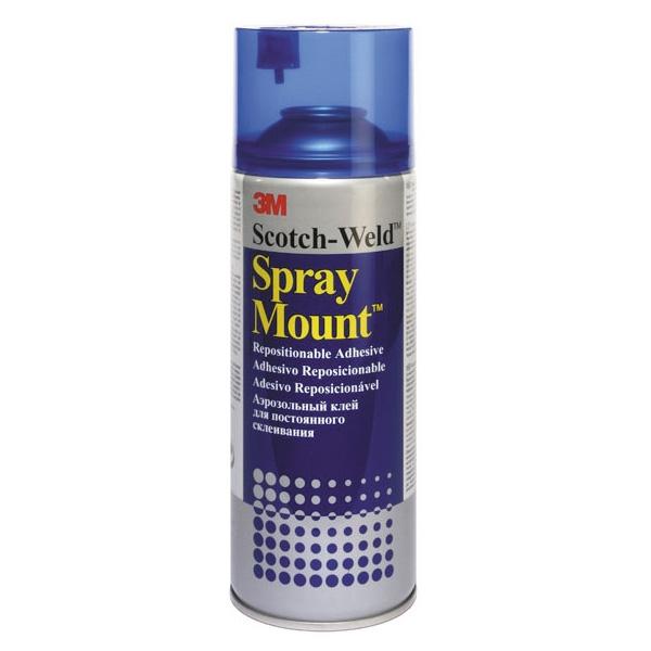 Клей-спрей  универсальный Spray Mount 3М 400мл