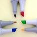 Маркеры FINECOLOUR 6 цветов (двухсторонние) 3 для