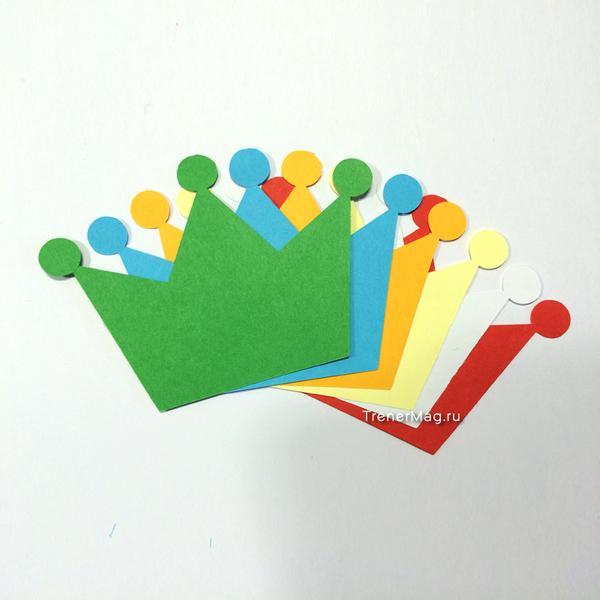 Карты Корона (10*7 см) для использования в задании