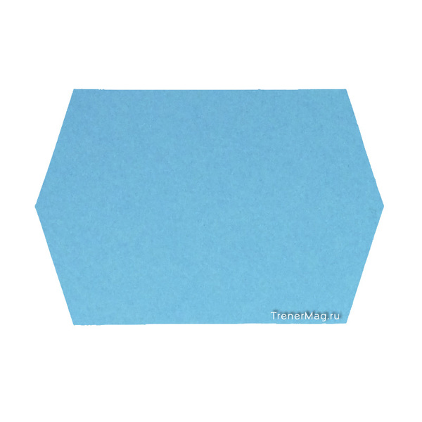применение Модерационные карты Ромбы большие (16,5х29,7см) для совещаний