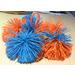 Мячик Куш болл (Koosh Ball, 2-х цветный) 6см 3 для