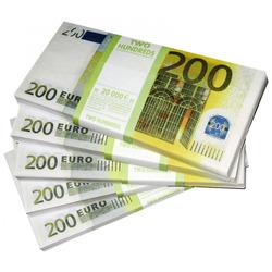 Деньги для игр (200 Евро)