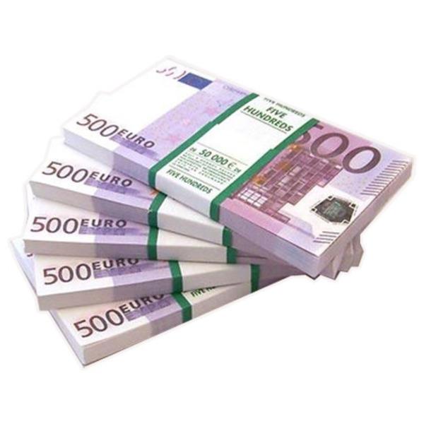 Деньги для игр (500 Евро) для бизнес тренеров