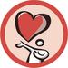 Фан наклейки 39 мм Сердце (6шт. на листе) для аджайл-коуча - в магазине ТренерМаг