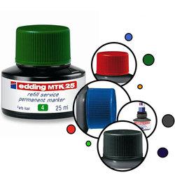 Чернила для перманентных маркеров Edding E-MTK 25мл