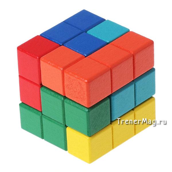 Командная головоломка Тетрис кубика рубика для развития мышления