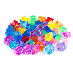 Набор акриловых кристаллов (20х15мм, разноцвет, 55шт.)