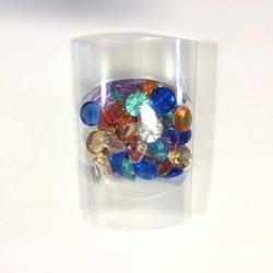 Набор камней Бриллианты (акрил, разноцвет, 45шт.)