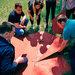 Игра Ломаный квадрат для развития в участниках чувства локтя и операционных навыков