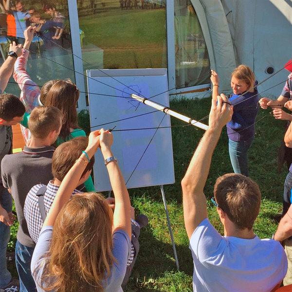 Игра Мега маркер для неунывающих участников командообразующего мероприятия