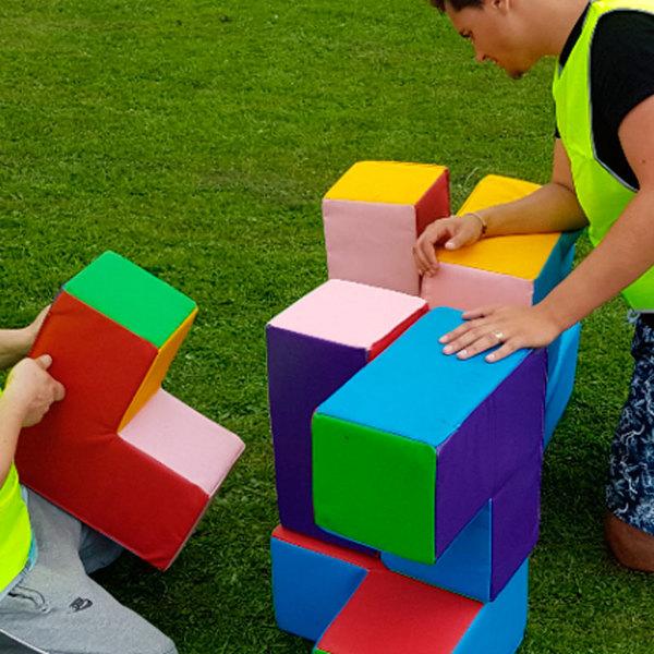 Игра Кубический пазл для веселого выполнения задания на корпоративном мероприятии