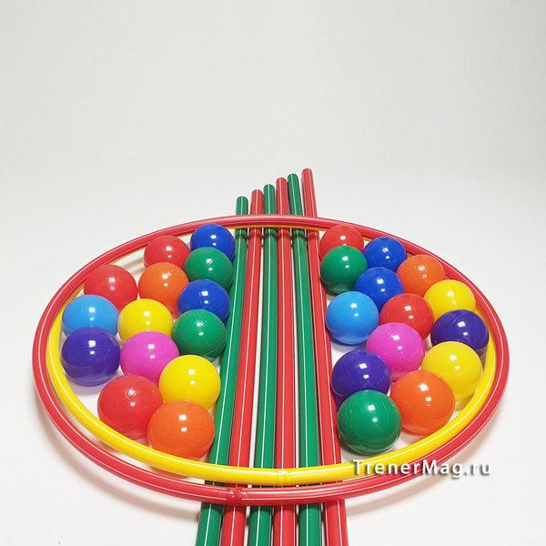 Командная игра Ядовитые шары для работы с группами и командами на сессии