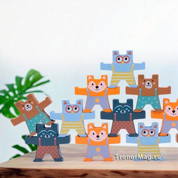 применение Командная игра на баланс Звериная команда на выставках
