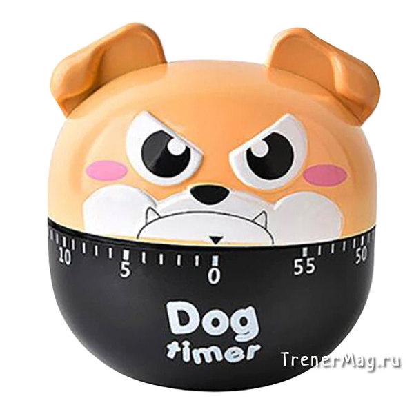 Таймер Cartoon Dog timer (Собака) для проведения тренинговых упражнений