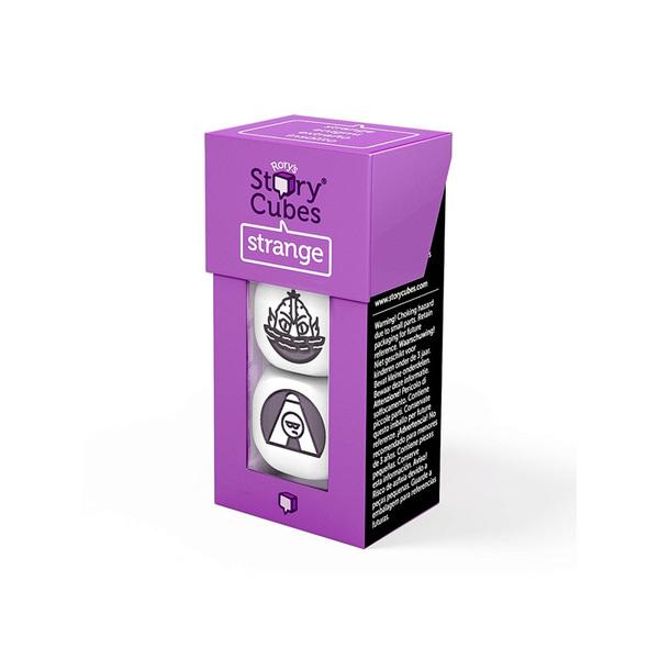 Кубики историй Призраки 3шт. для создания страшных историй в компании друзей