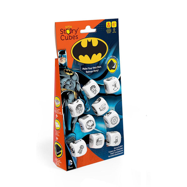 применение Кубики историй Бэтмен 9шт. на форсайте