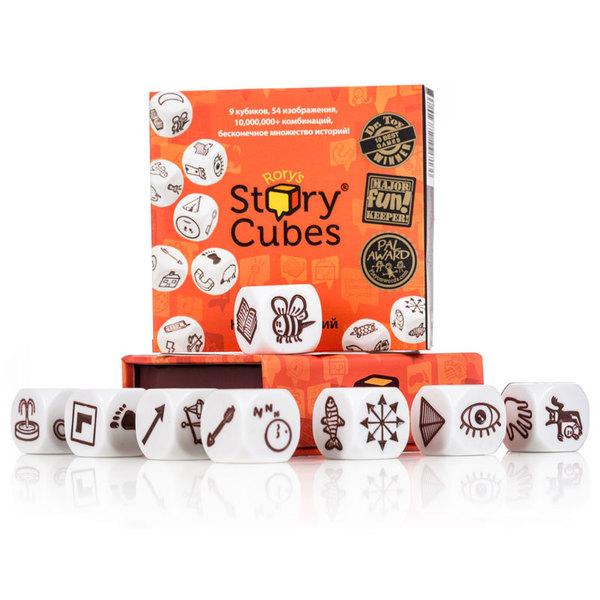 Кубики историй Оригинальные 9шт. для научения интересно составлять и рассказывать истории