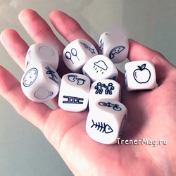 Кубики историй Happy story dice 9шт.