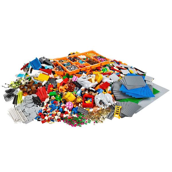 LEGO SERIOUS PLAY. Набор Индивидуальность и пейзаж для проведения стратсессии