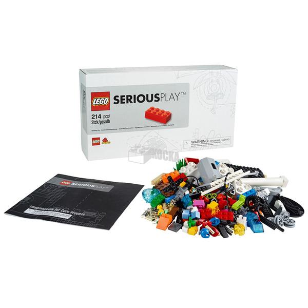 LEGO SERIOUS PLAY. Стартовый набор для начала исследования с помощью кубиков