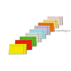 Магнитные Lean карточки для планирования (size M)