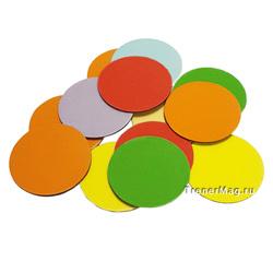 Магнитные метки для голосования разноцветные