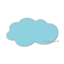 Магнитные модерационные карточки Облако А3