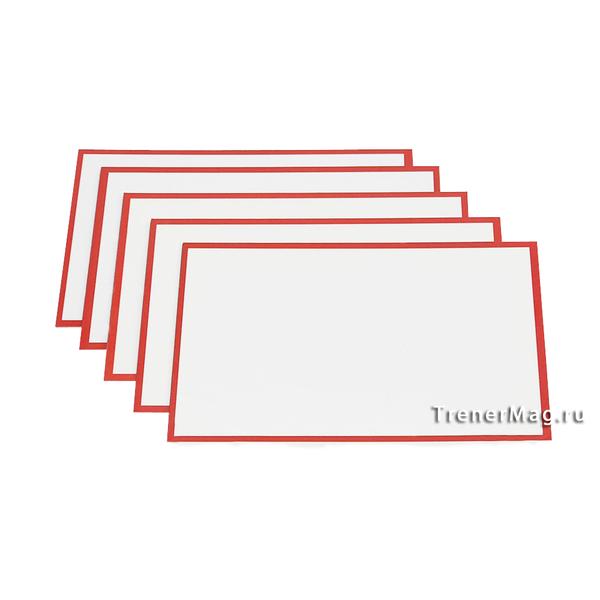 Красные карточки магнитные для Scrum команд для