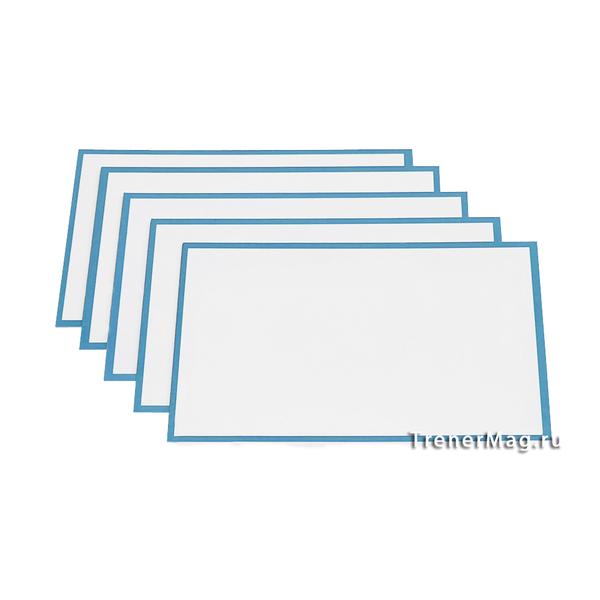 Голубые карточки магнитные для Scrum команд для