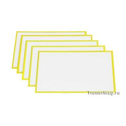 Желтые карточки магнитные для Scrum команд