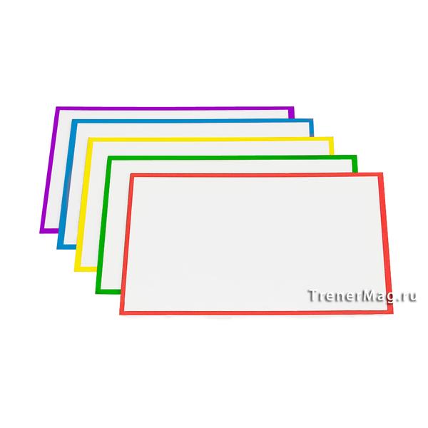 Карточки магнитные для Scrum команд разного цвета для визуального представления информации