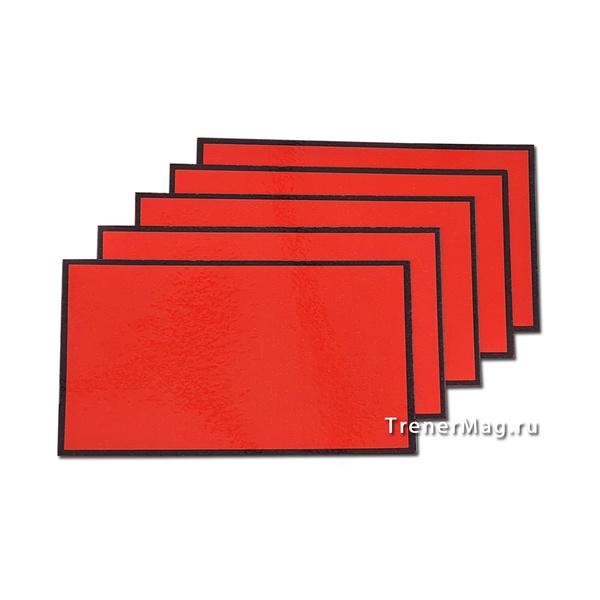 Красные магнитные карточки для Scrum команд для модерационных карт