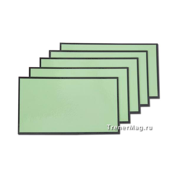 Зеленые магнитные карточки для Scrum команд для применения на совещаниях