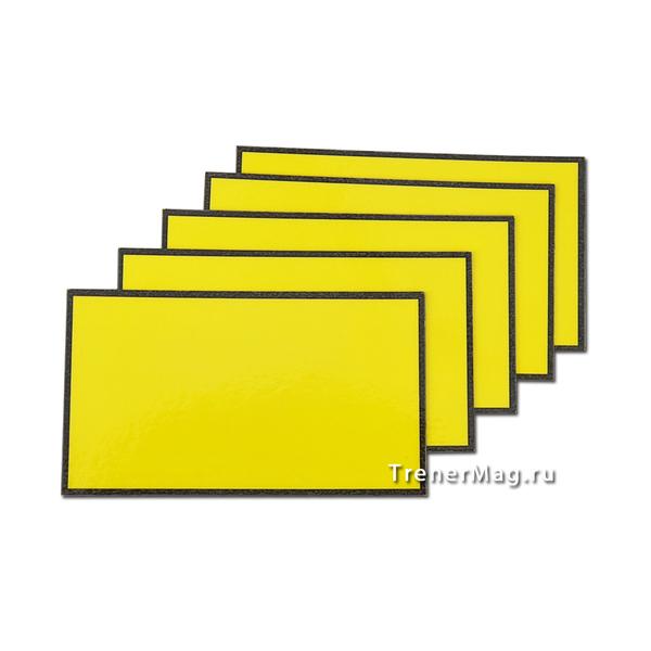 Желтые магнитные карточки для Scrum команд для гармонизации в бизнесе