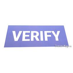Магнитный заголовок VERIFY