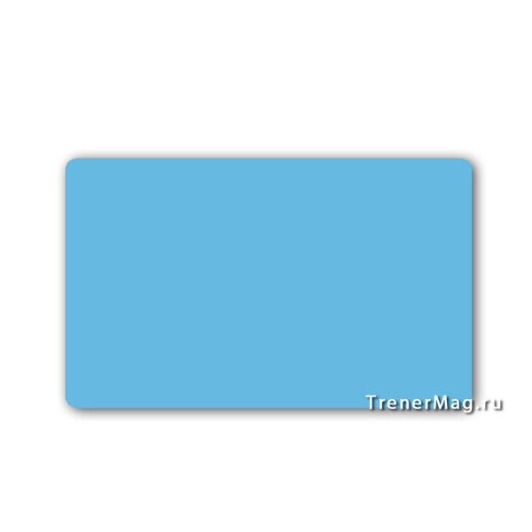 Карточки магнитные для записей Голубые для