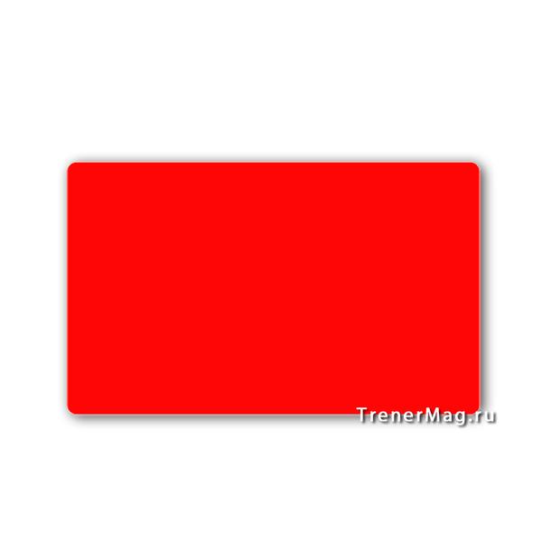 Карточки магнитные для записей Красные для